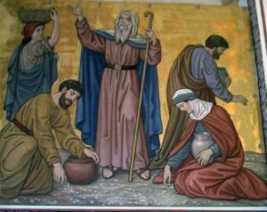 Speisung Israels mit Manna