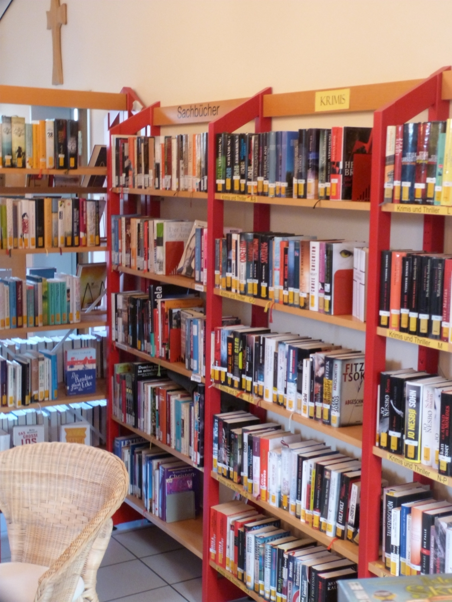 Innenraum Bücherei